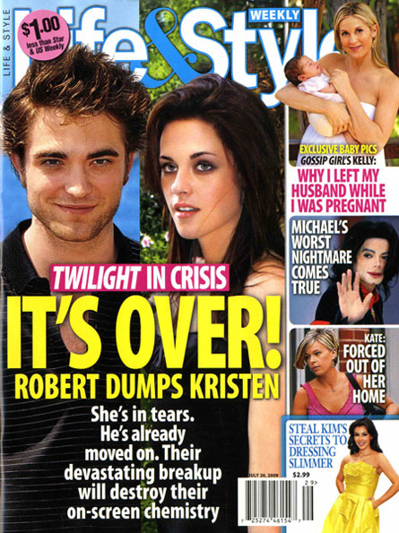 Kristen stewart and robert pattinson secretly hookup