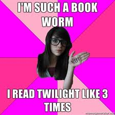 Twilight bookworm