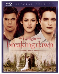 Breaking Dawn Part 1 DVD